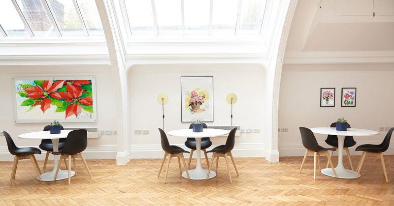 Restaurantes, oficinas, hoteles o casas con mucho Arte: interiorismo y decoración solidaria