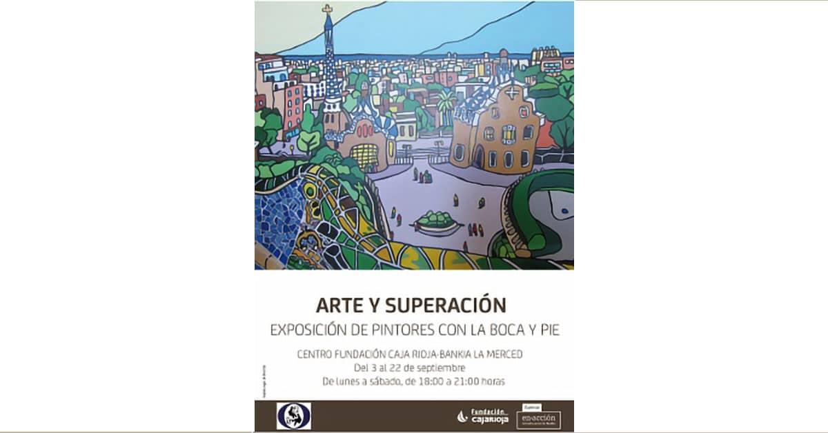 Exposición Internacional de Pintores Boca Pie en Logroño