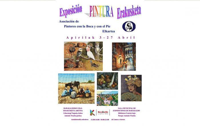 Exposición Internacional de Pintores Boca Pie en Barakaldo