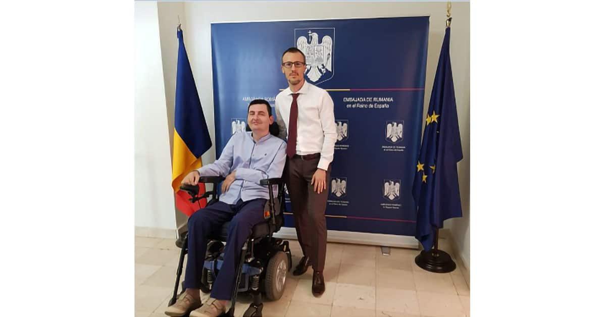 Exposición de Florín Anghel en la Embajada de Rumanía