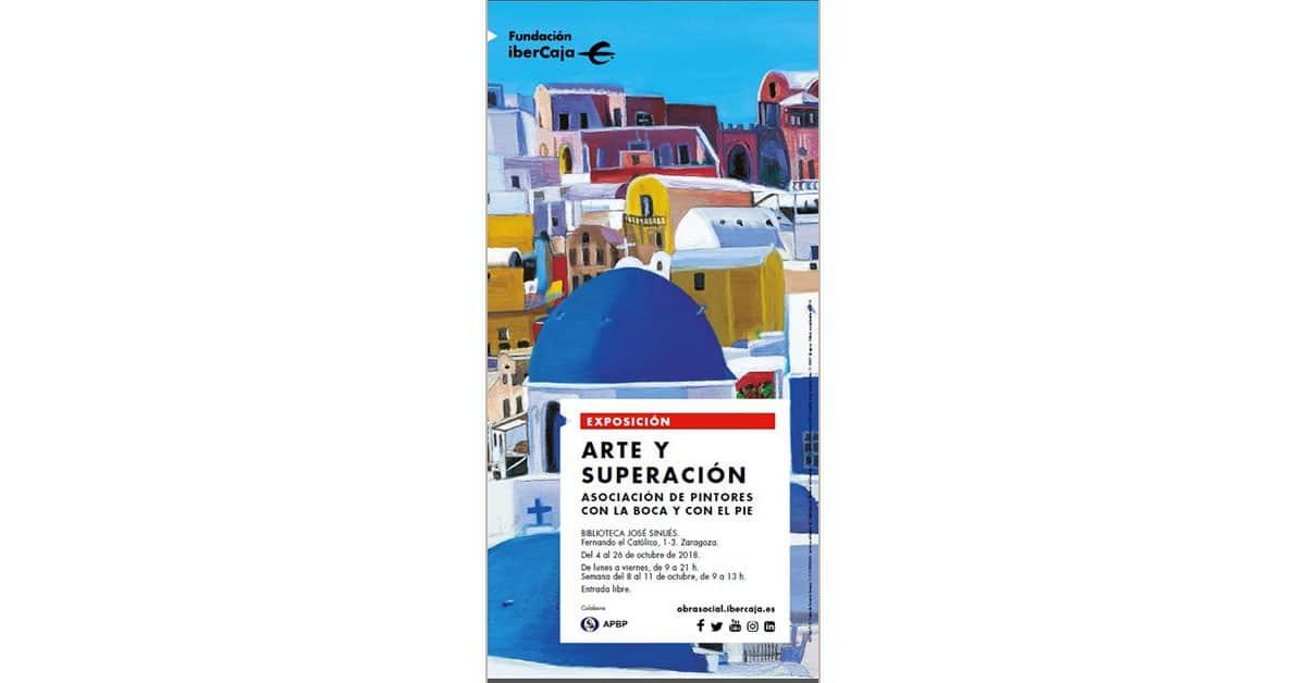 Exposición Internacional de la Asociación de Pintores Boca Pie en Zaragoza