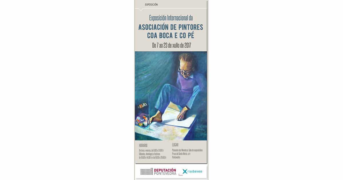 Exposición Internacional de Pintores Boca Pie en Pontevedra