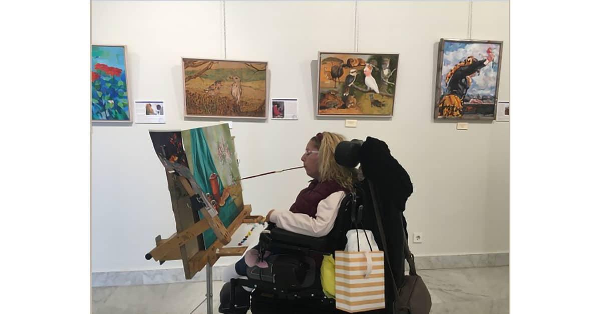 Exposición Internacional de la Asociación de Pintores Boca Pie en Tres Cantos
