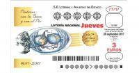 La Asociación de Pintores Boca Pie en la Lotería Nacional