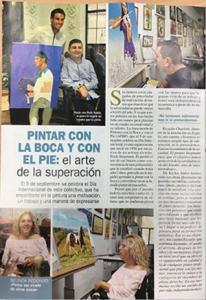 Reportaje Pintores Boca Pie