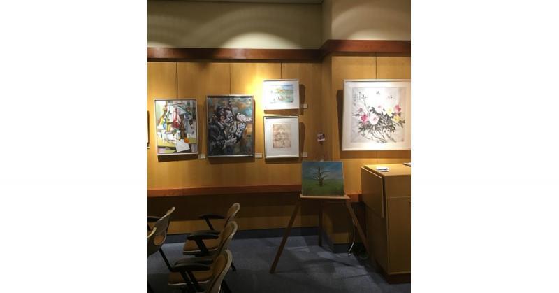 Exposición Internacional de Pintores Boca Pie en Santander