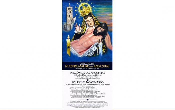 Luislo pinta el cartel para Semana Santa Zamorana