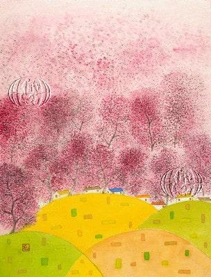A spring news (Noticias de primavera) (Soon-Yi Oh, 2012)
