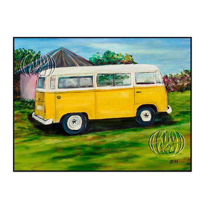 """Amarillo Vintage"" de Jerome Johan Hannam"