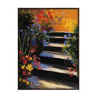 Garden Steps by Peter William Van der HULST