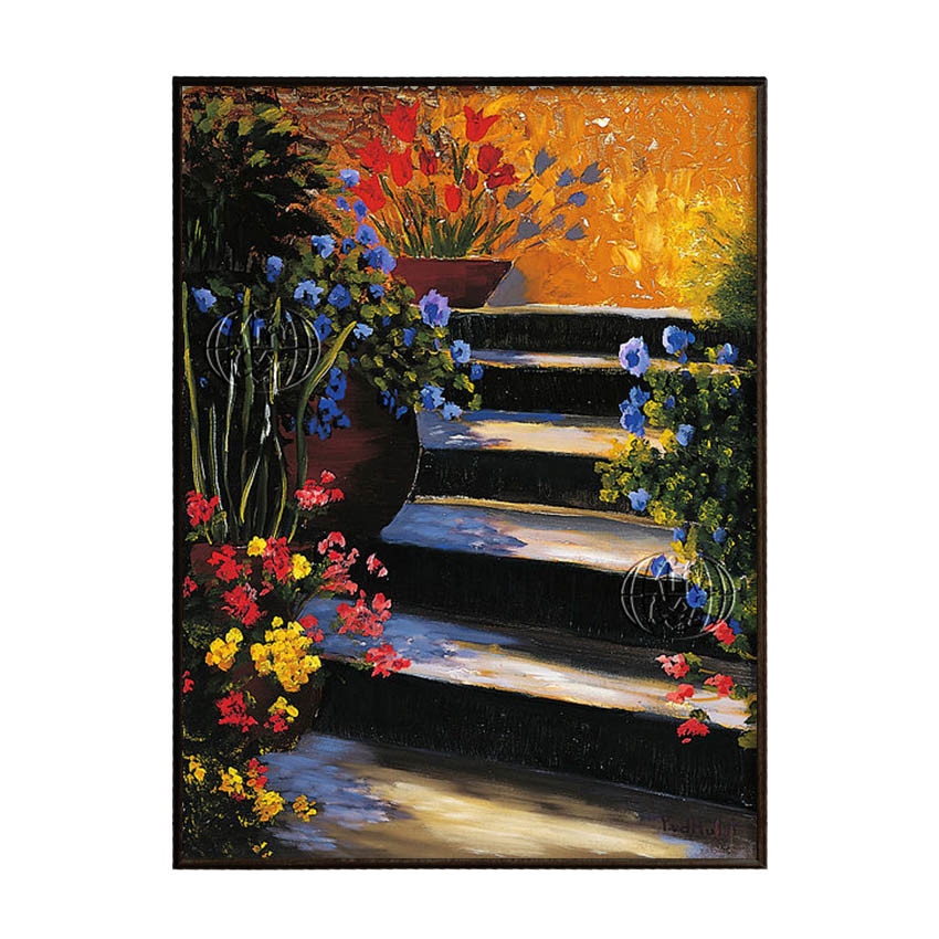 Garden Steps by Peter William Van der HULST