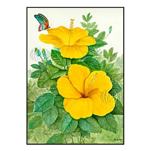 """Hibisco amarillo"" de Ah Kwai Ng"