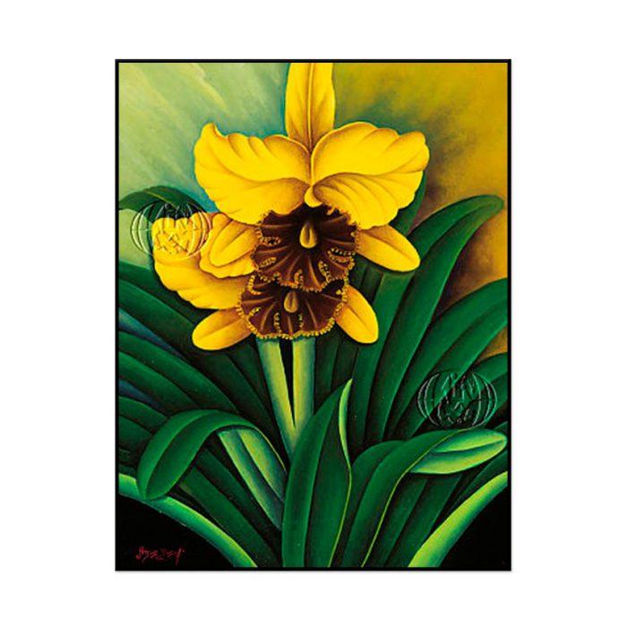 """""""Orquídea amarilla"""" de Yusuf Agus"""