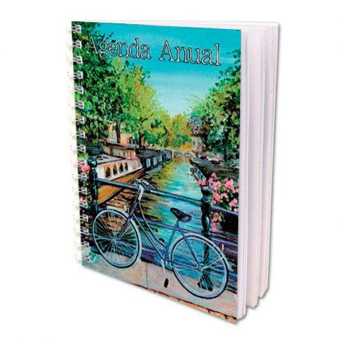 Agenda Anual Bicicleta