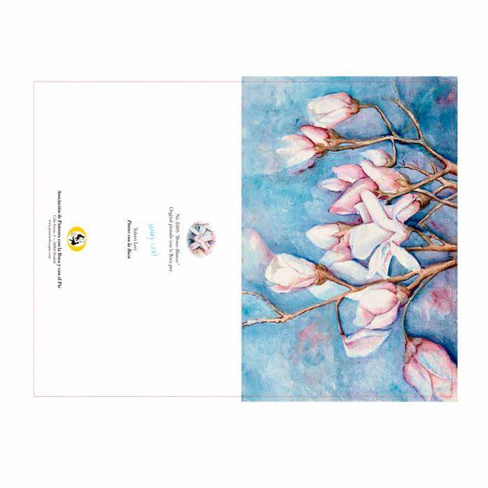 Colección tarjetas Asociación de Pintores con la Boca y con el Pie 2020