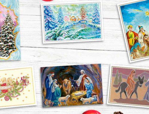 Oda al christmas: mucho más que una tarjeta de Navidad. La importancia de lo tangible.