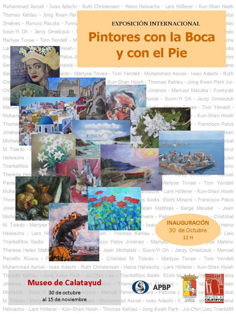 Exposición Internacional de Pintores con la Boca y con el Pie en Calatayud