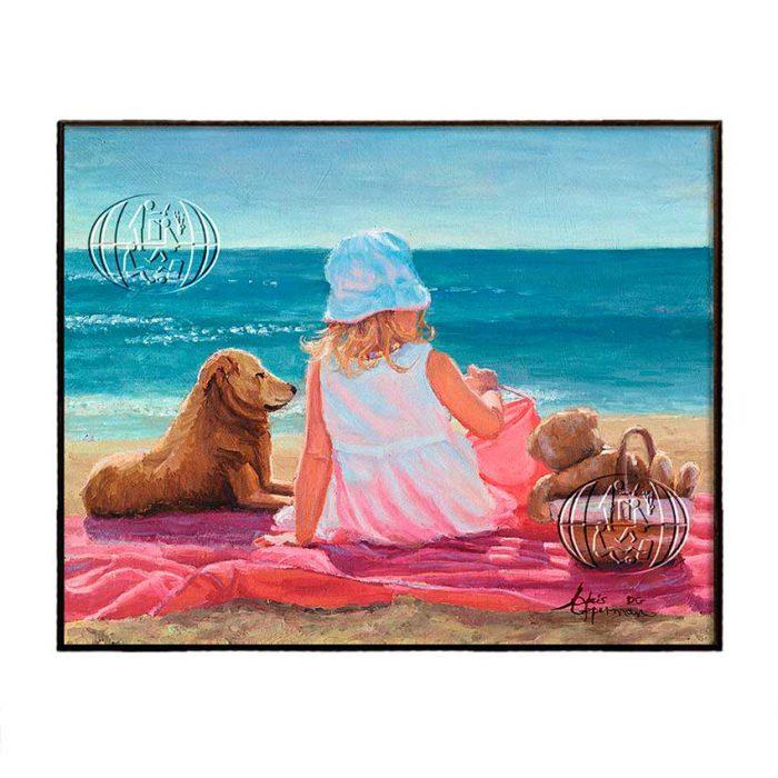 """Day at beach"" de Chris OPPERMAN"