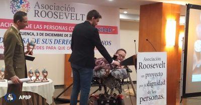 Premio Roosevelt al Esfuerzo y la Superación Personal para José Luis Mora