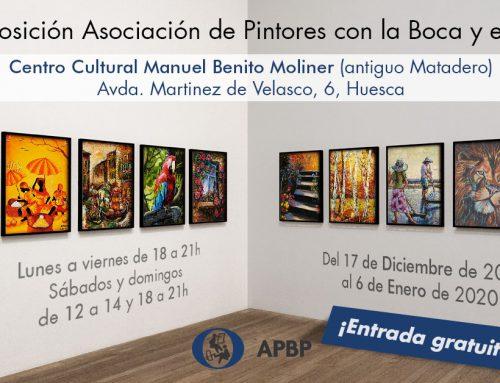 Exposición Internacional de Pintores con la Boca y con el Pie en Huesca