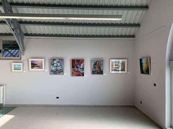 exposición pintura Huesca