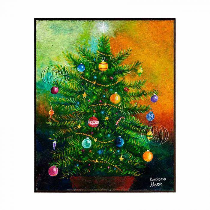 """""""Árvore de Natal"""" de Luciano Alves dos NASCIMENTO"""