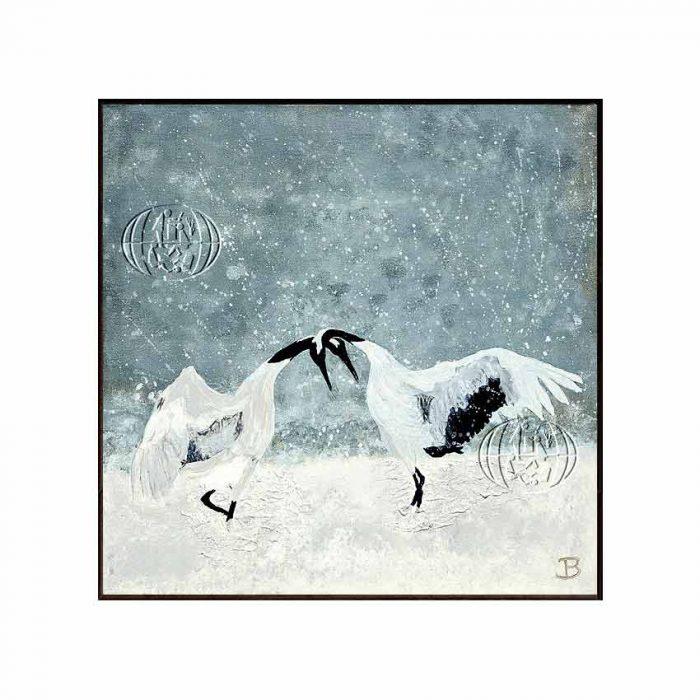 """""""Dancing crane birds"""" de Brit Grøtterud SKOTLAND"""