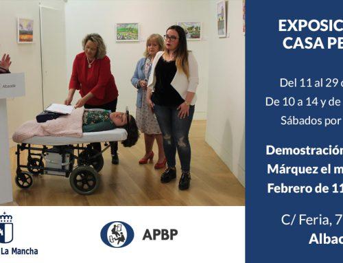 Exposición de Pintores con la Boca y con el Pie en Albacete