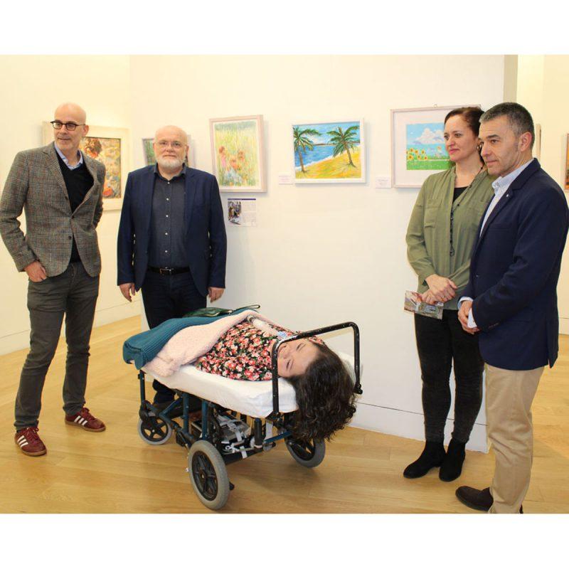 exposición pintores boca pie Albacete