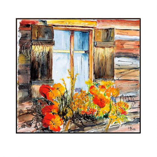 """Blumenfenster"" de Markus KOLP"