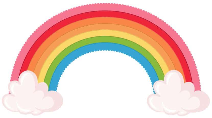 primer reto arcoíris