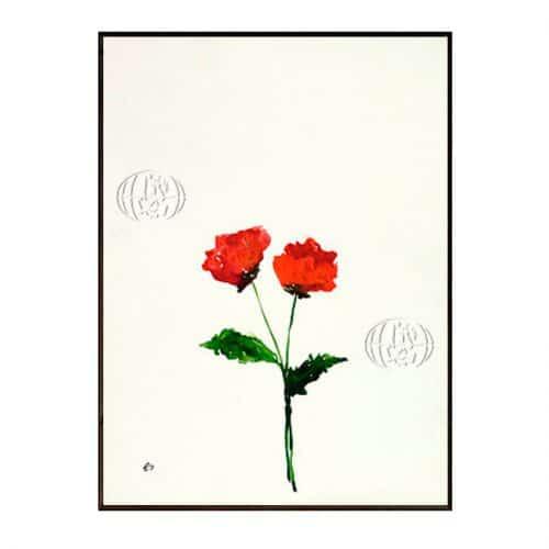 """""""Dos flores rojas"""" de Revital SHELUBSKY"""