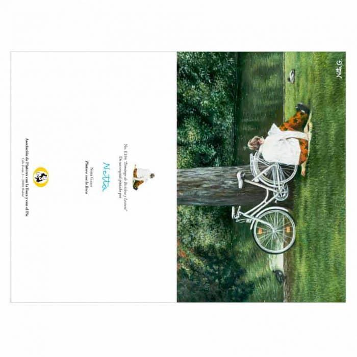 Colección de tarjetas de Primavera Asociación de Pintores con la Boca y con el Pie