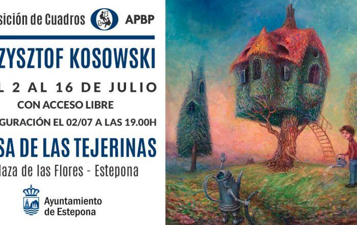 Exposición de pintura de Krzysztof Kosowski en Estepona