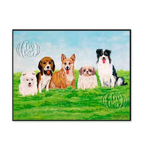 """""""Perros"""" de Iwao Adachi"""