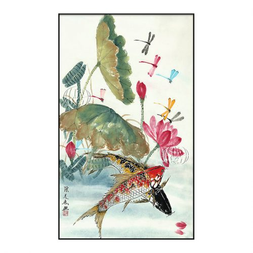 """Flores y peces"" de Mei-Hui CHEN"