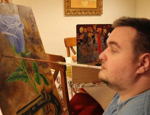 Entrevista a nuestro artista Alejandro Pinazo en La Voz del Sur