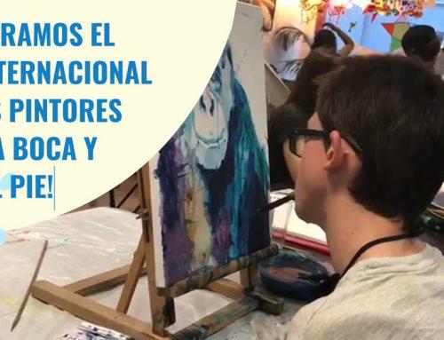 5 de septiembre: Día Internacional de los Pintores con la Boca y con el Pie