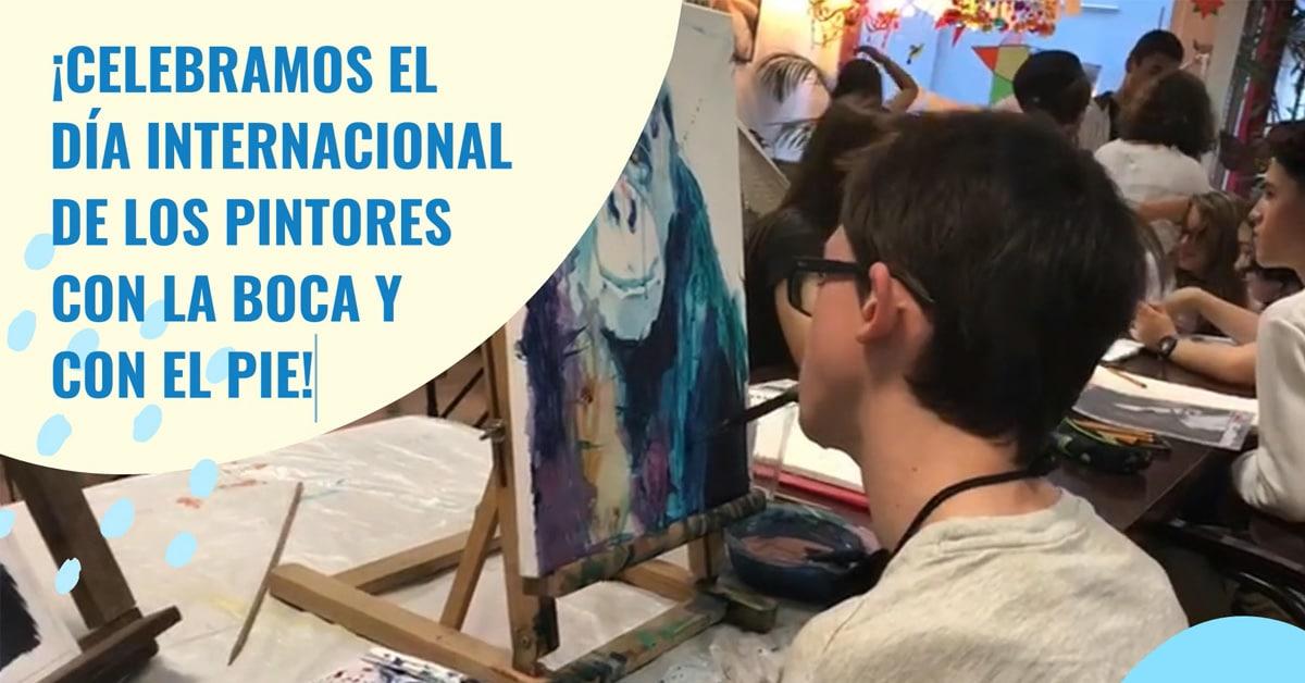 Día Internacional de los Pintores con la Boca y con el Pie