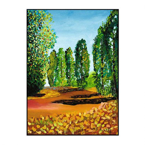 """""""Sendero de árboles"""" de Alejandro Pinazo"""