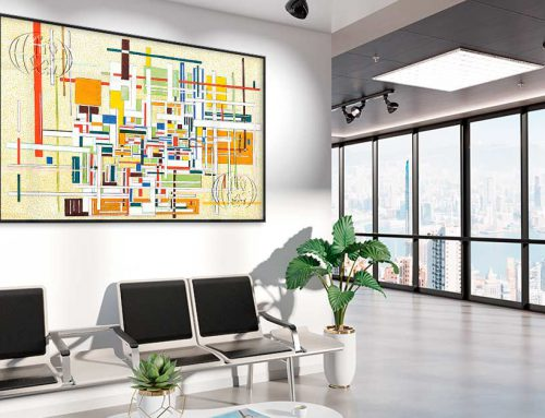 Cómo decorar con cuadros abstractos