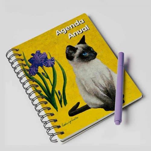 agenda anual gato