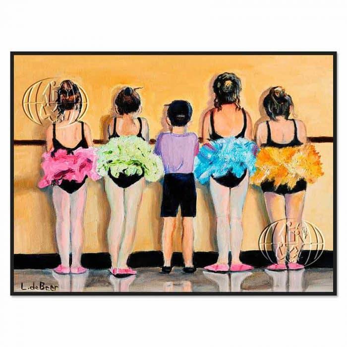 """""""Bailarinas"""" de Catherine Lizette de Beer"""
