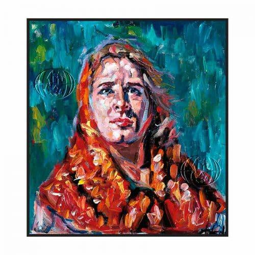 """""""Cabeza de mujer"""" de Cristóbal M. Toledo"""