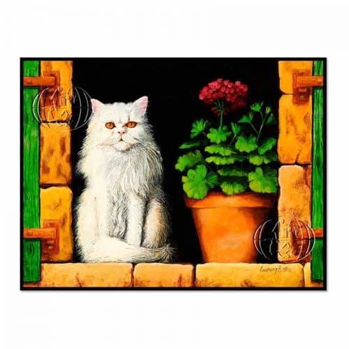 """Gato persa"" de Theodor Ludwig BOTHA"