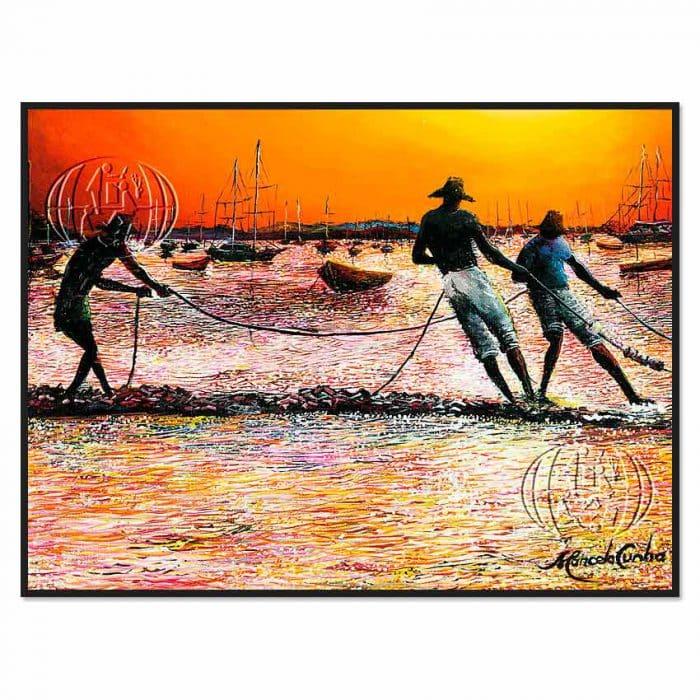 """""""Playa de los pescadores boecios"""" de Marcelo da Cunha"""