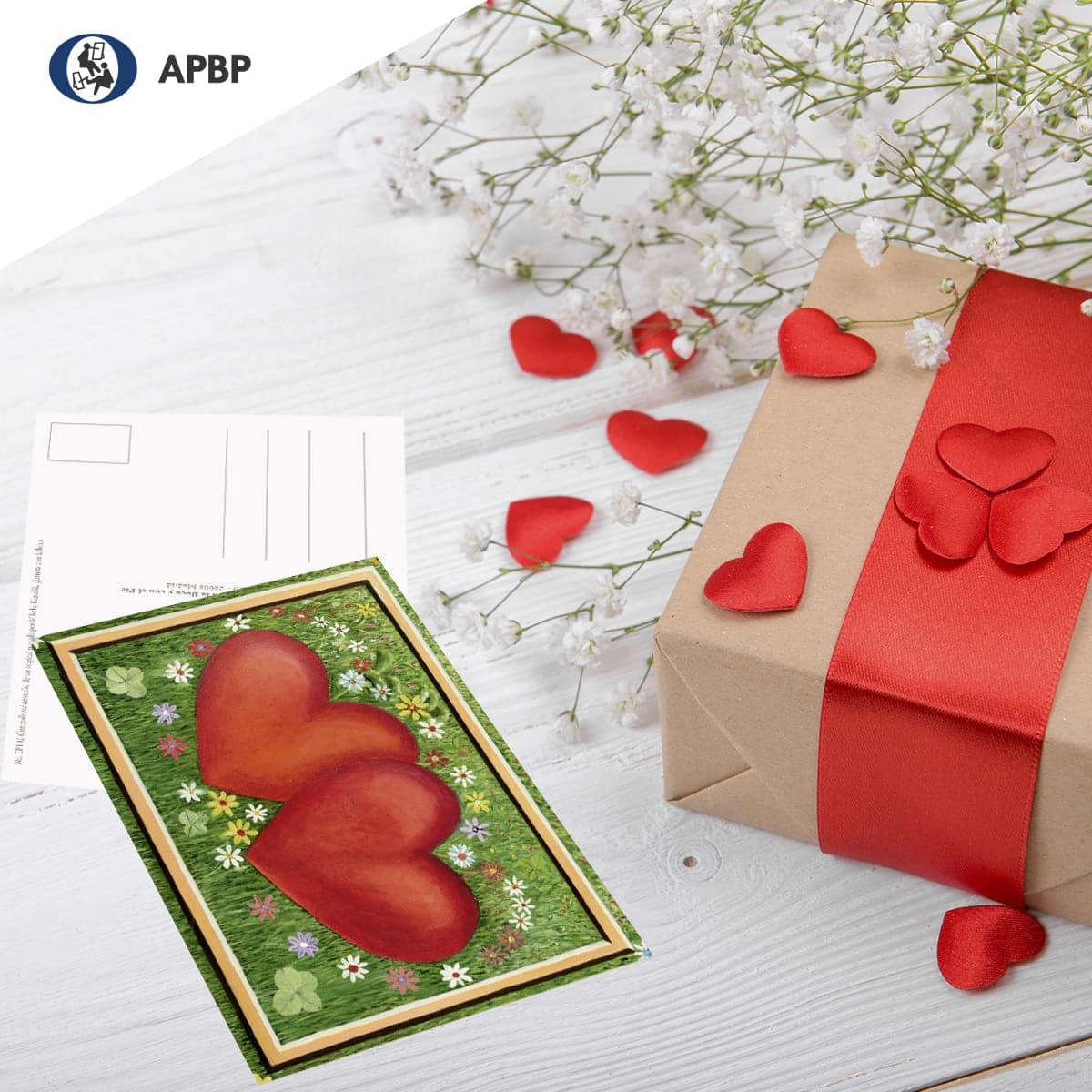 tarjeta para aniversarios y día de los enamorados