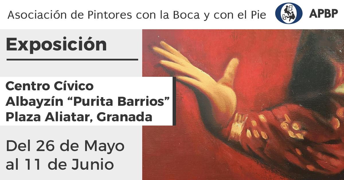 Exposición Asociación Pintores con la Boca y con el Pie en Granada