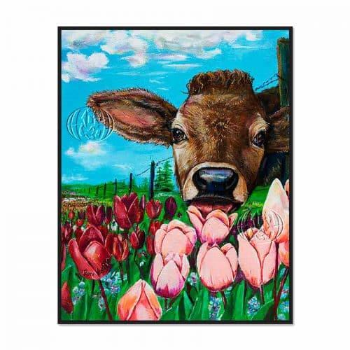 """""""Tulipanes sabrosos"""" de Ronald Charles HEAGY"""