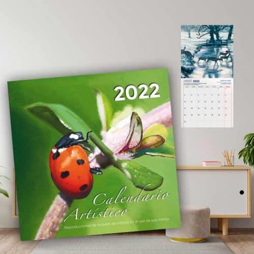 Calendario Artístico de Pared 2022